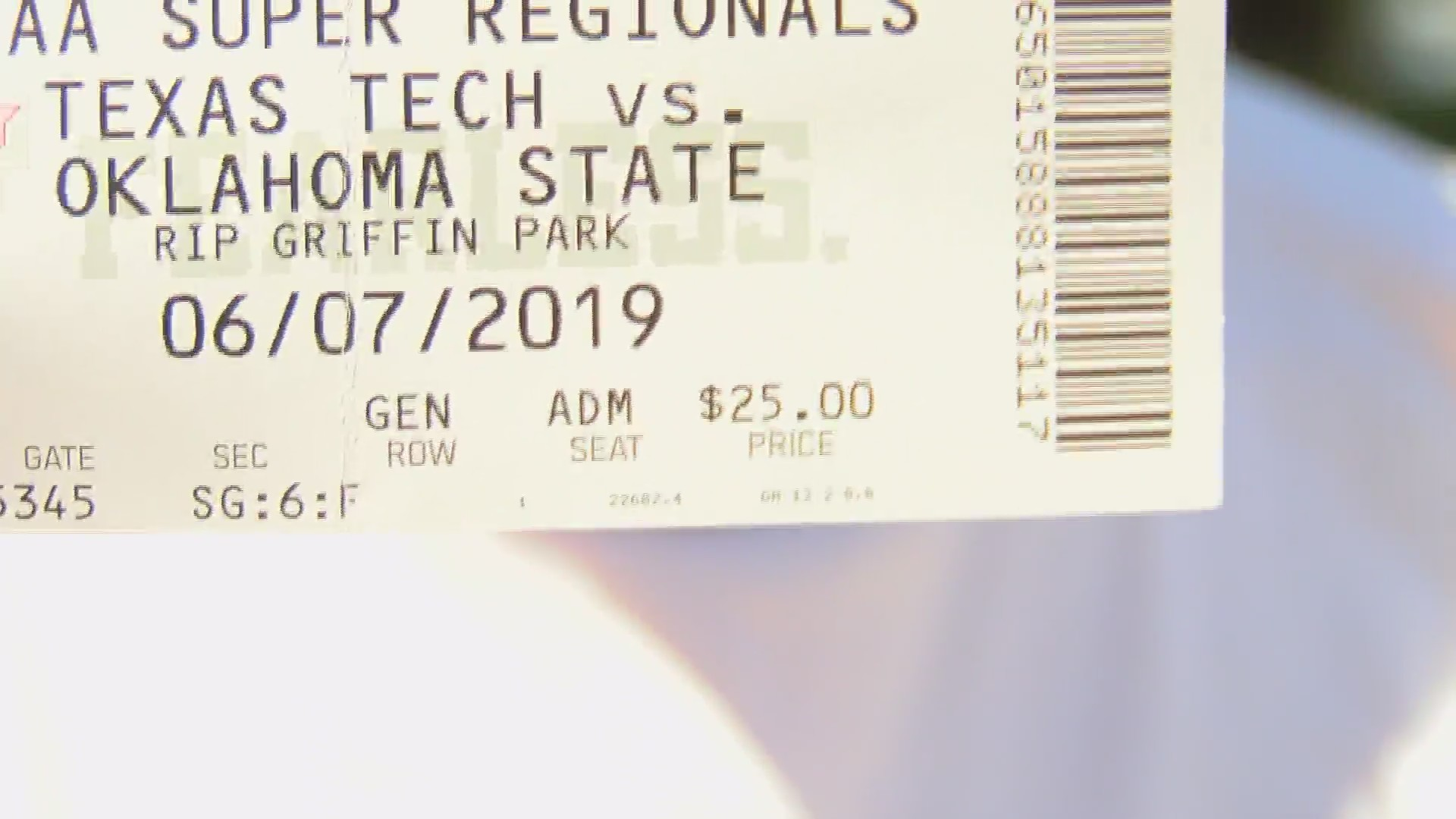 Texas Tech Athletics warns about ticket scalpers for Lubbock Super Regional