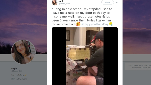 Stepdad's Father's Day gift brings the Internet to tears