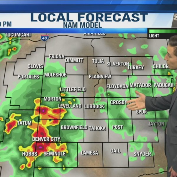 KAMC HD Evening Weather Webcast July 6th, 2019