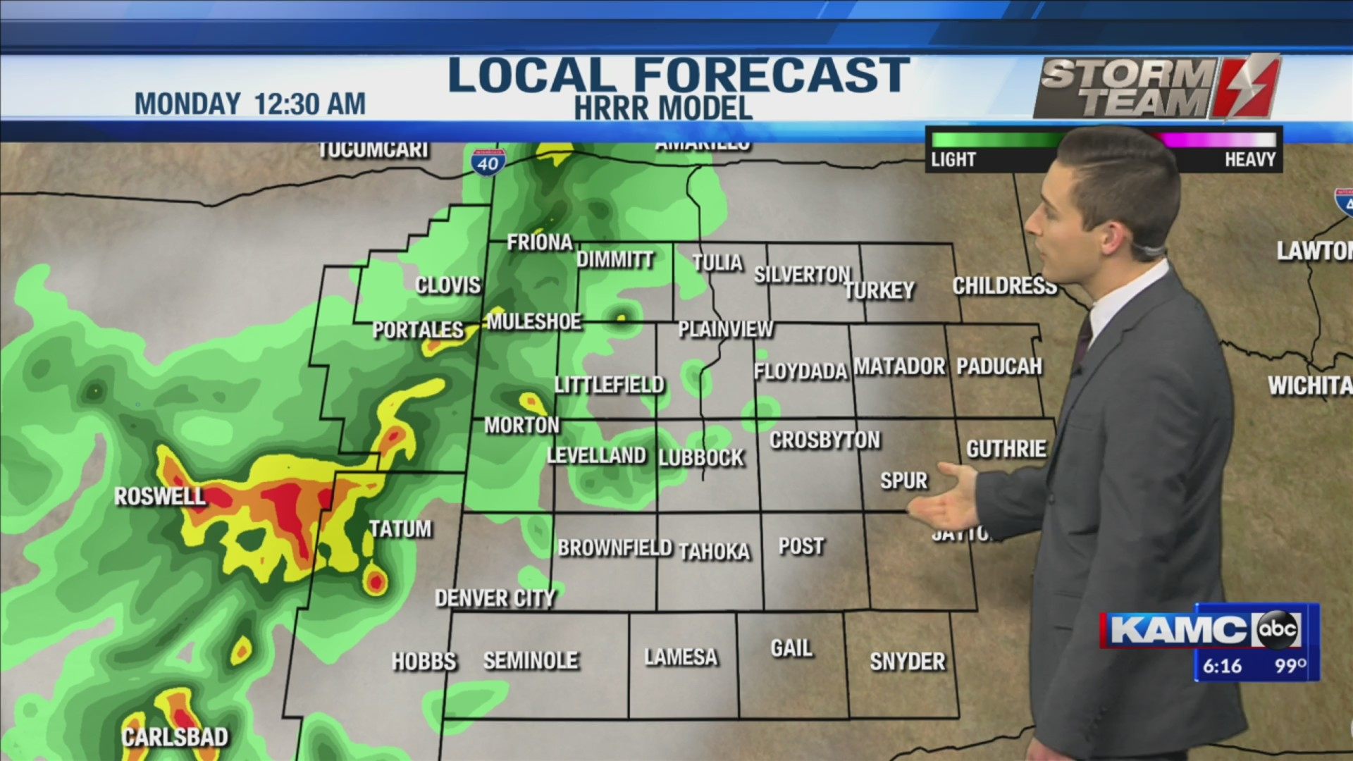 KAMC HD Weather Webcast July 20th, 2019