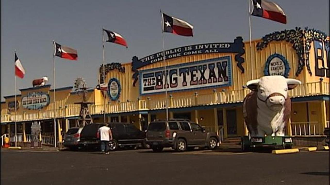 Big Texan Motel named one of 'coolest motels in America'