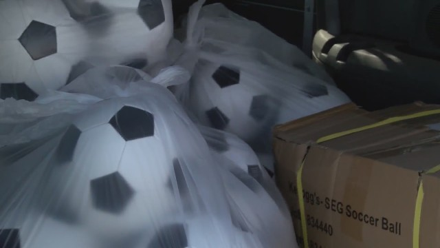 United Supermarkets donates soccer balls to Boys and Girls Club of Lubbock