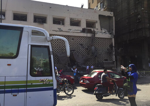 Car crash in Cairo sets off fire outside hospital, kills 20