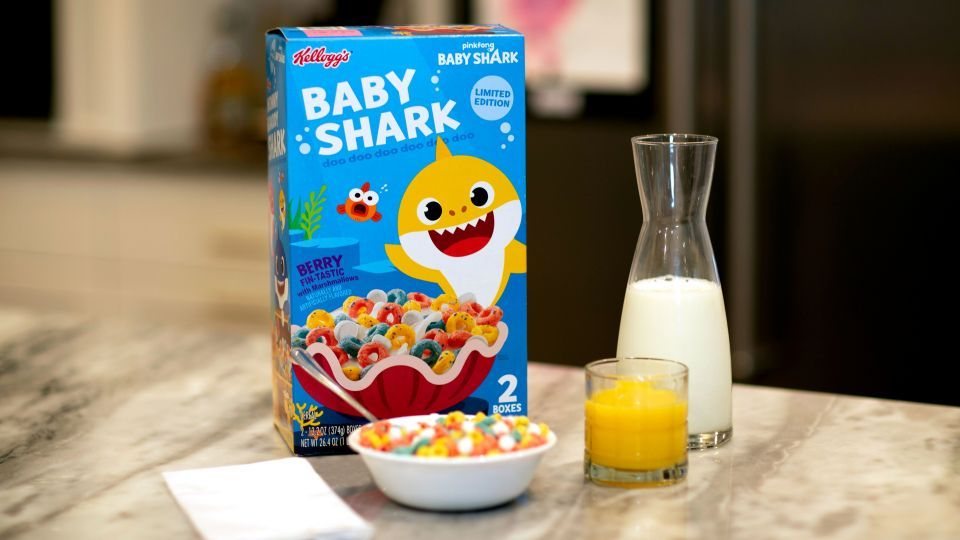 Sams Club Auto >> Baby Shark cereal coming to Sam's Club this weekend | KLBK ...