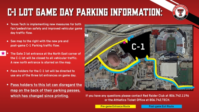 Texas Tech announces changes to gameday parking and bus ...