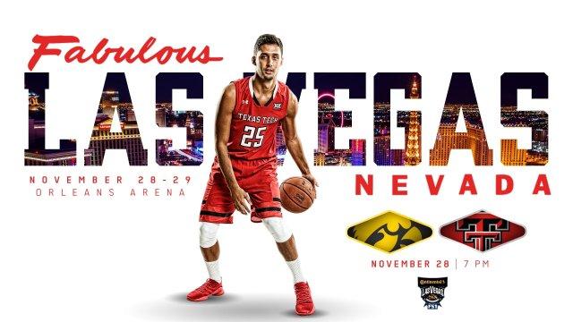 Texas Tech Basketball to open Las Vegas Invitational against Iowa