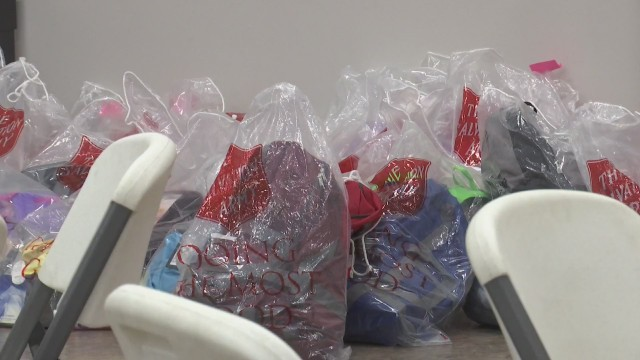 Salvation Army holds back to school event for children in need