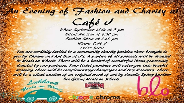 An Evening of Fashion and Charity at Cafe J's on Sept. 30