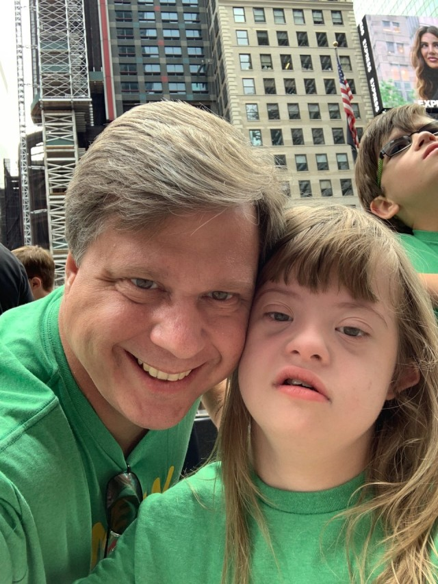 Putnam County girl with down syndrome gets to see her picture in Time Square
