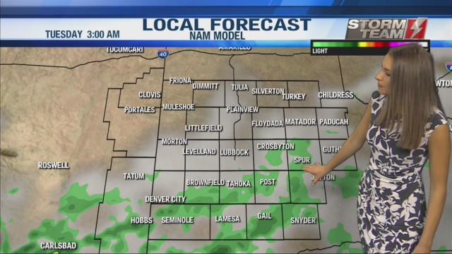 KAMC HD Weather Webcast October 14th, 2019