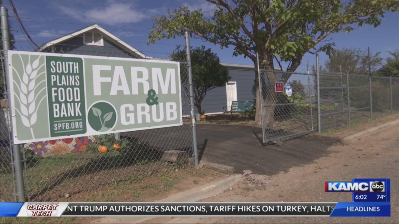 South Plains Food Bank's Grub Farm building is now ...
