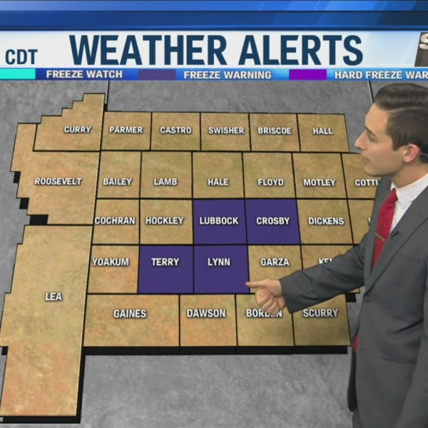 KAMC Weather Webcast with Meteorologist Jacob Riley: October 11th, 2019