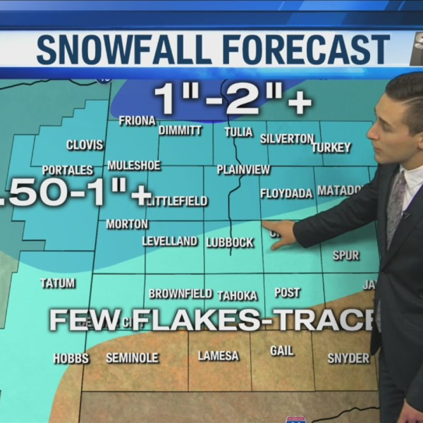 KAMC Weather Webcast with Meteorologist Jacob Riley: October 24th, 2019