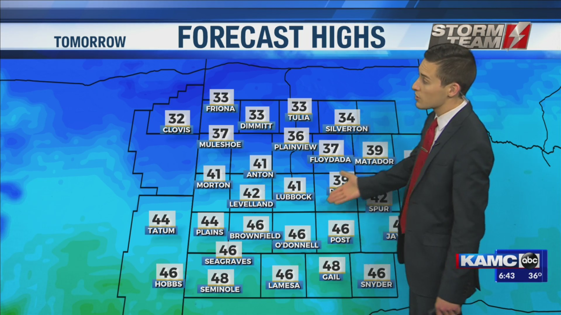 KAMC Weather Webcast with Meteorologist Jacob Riley: October 29th, 2019
