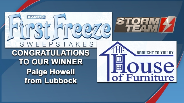 KAMC announces winner of First Freeze contest