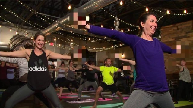 'Rage yoga' class includes cursing and alcohol