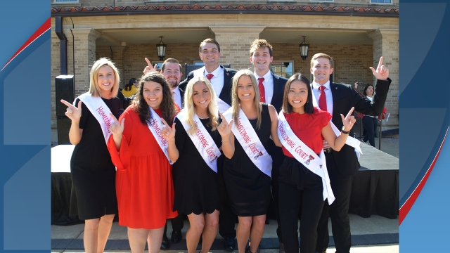 Homecoming King & Queen crowned at Texas Tech vs. Iowa State game