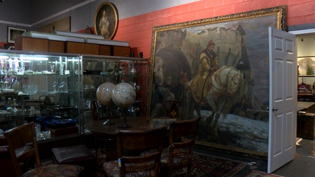 The world thought a painting was destroyed in WWII. It was hanging in a Connecticut home