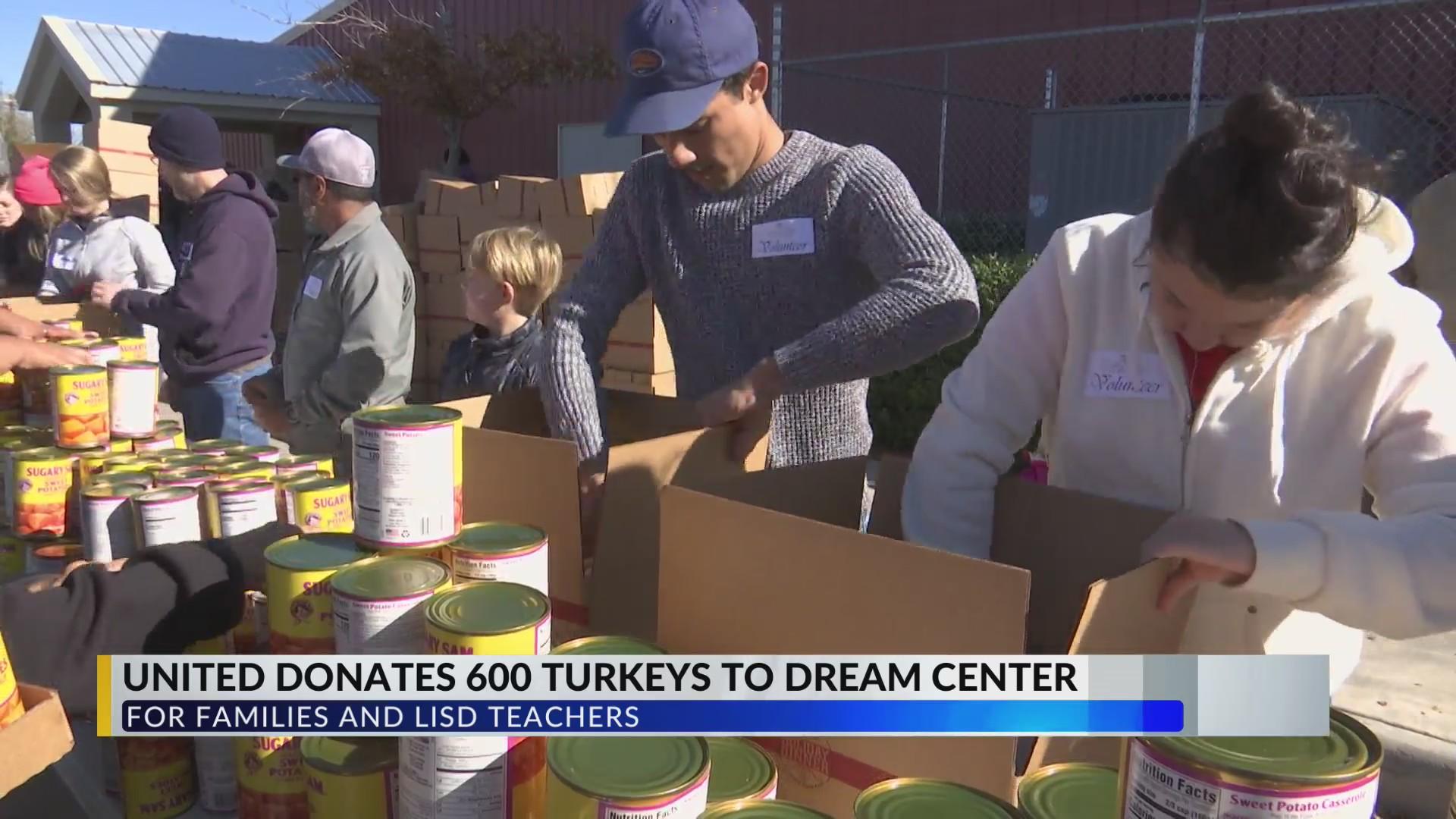 The United Family donates 600 turkeys to Lubbock Dream Center Saturday | KLBK | KAMC ...