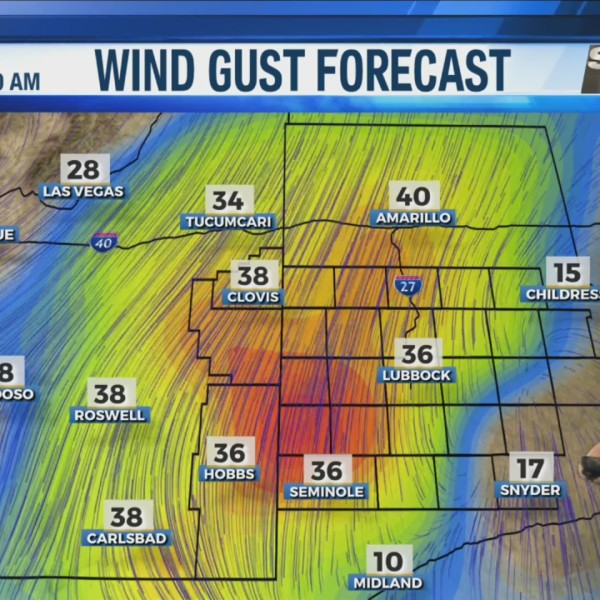 KAMC Weather Webcast with Meteorologist Ron Roberts: November 13th, 2019