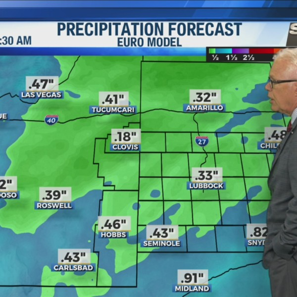 KAMC Weather Webcast with Meteorologist Ron Roberts: November 15th, 2019