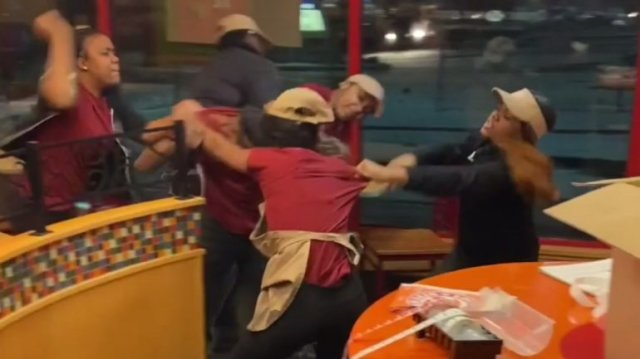 '7 employees were terminated:' Vicious brawl at Milwaukee Popeyes caught on cellphone video