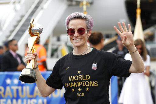 Megan Rapinoe named SI Sportsperson of the Year
