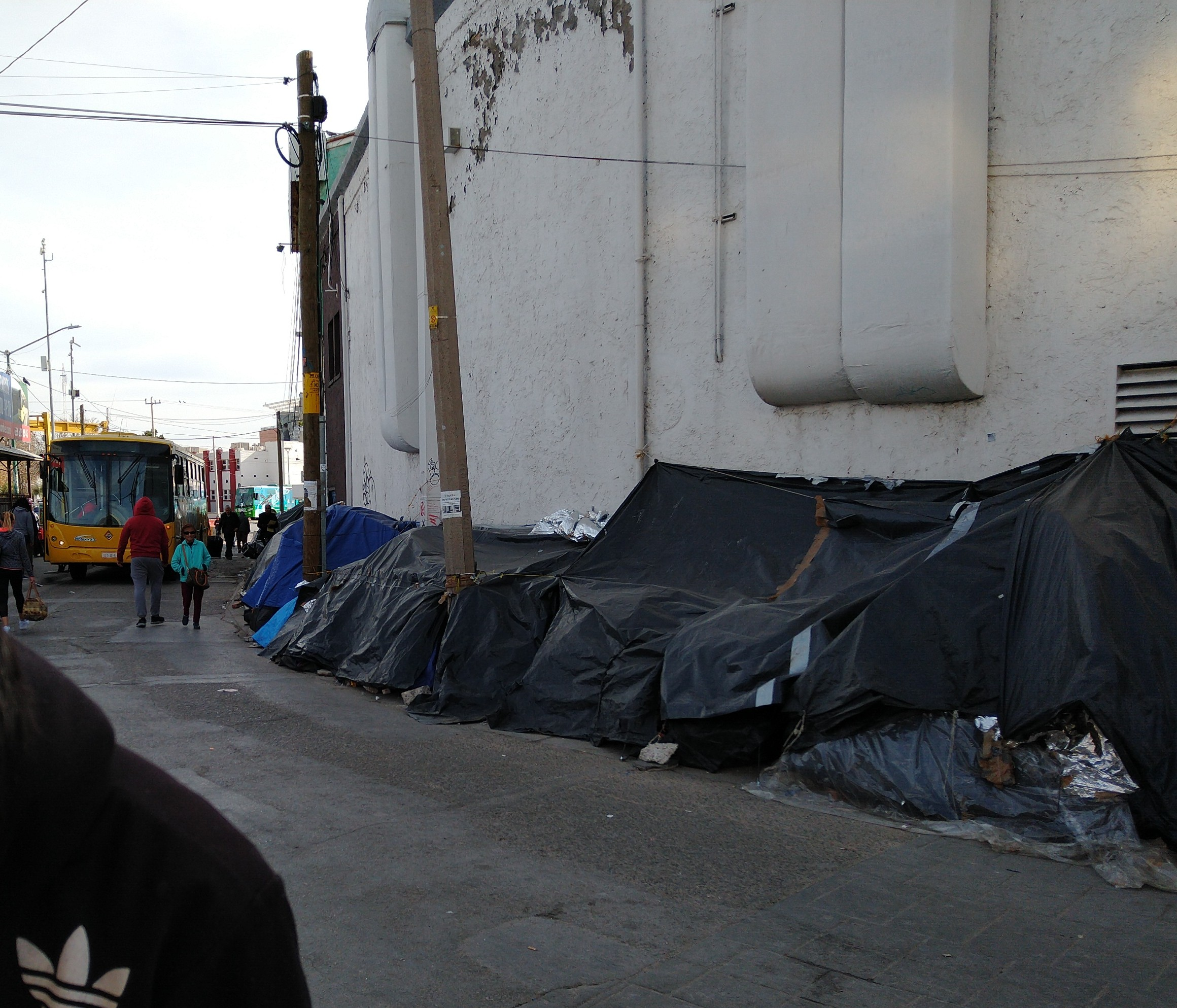 Frustrated And Cold, Mexicans Displaced By Drug Violence