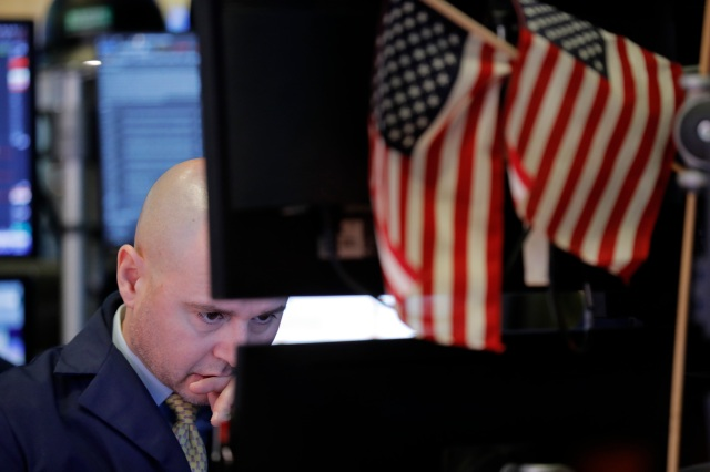 US stocks follow global markets lower over virus concerns