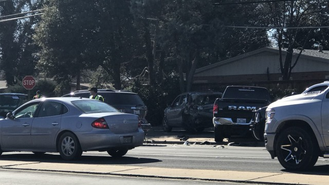 Several injuries reported in multi-vehicle crash at 58th and University