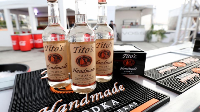Tito's Handmade Vodka is now the top-selling distilled spirit in the U.S., report says
