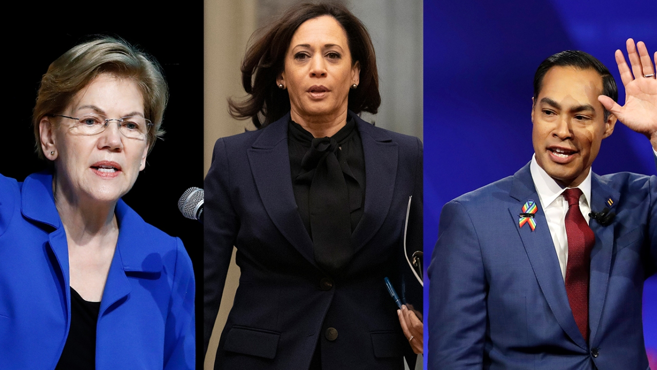 Texas Democrats announce Kamala Harris, Elizabeth Warren, Julian Castro as convention guests