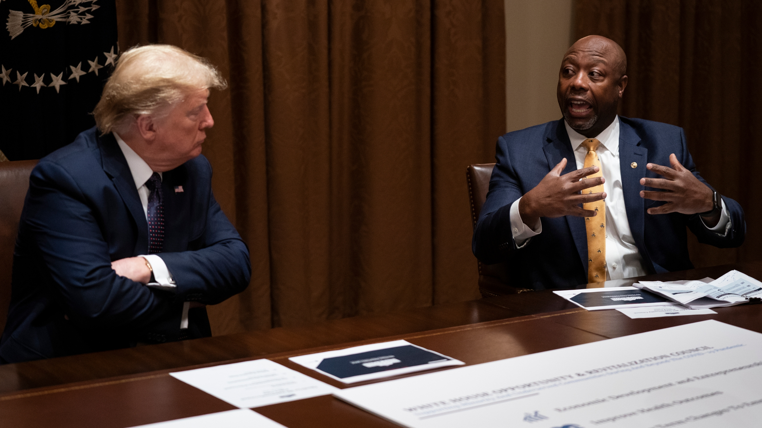 Donald Trump, Tim Scott