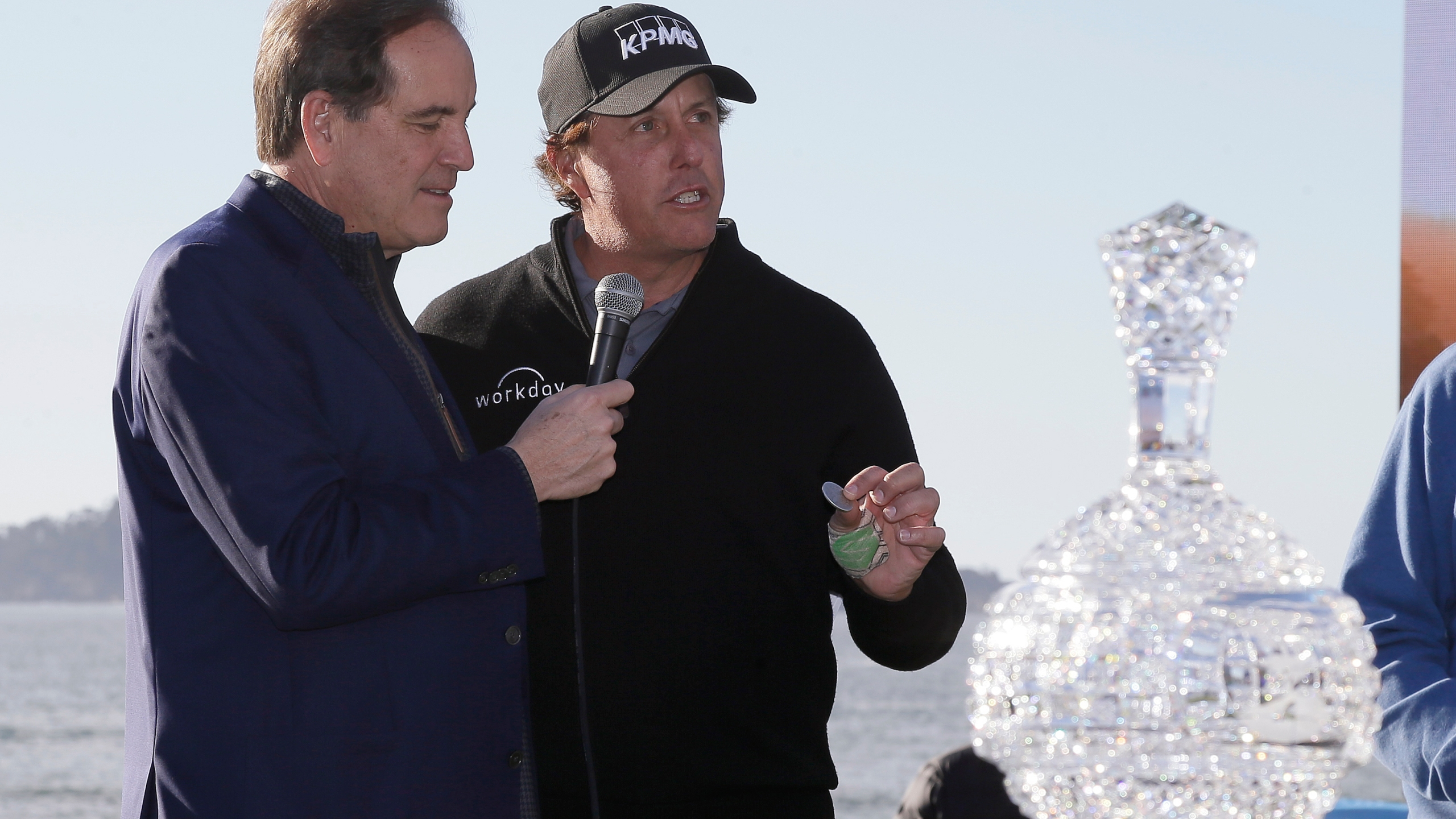 Phil Mickelson, Jim Nantz