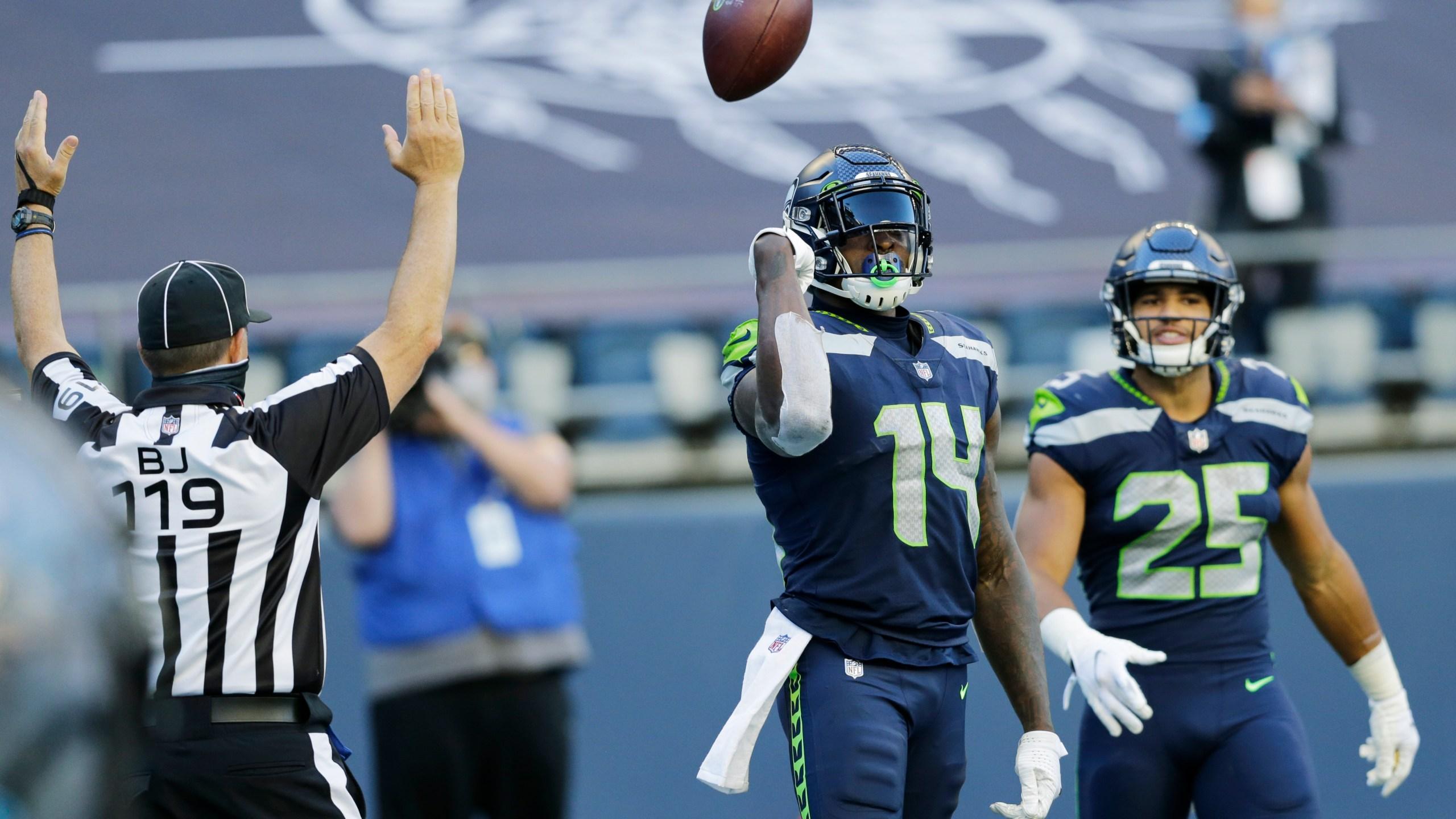 Wilson Throws 5 More Td Passes Seahawks Beat Cowboys 38 31 Klbk Kamc Everythinglubbock Com