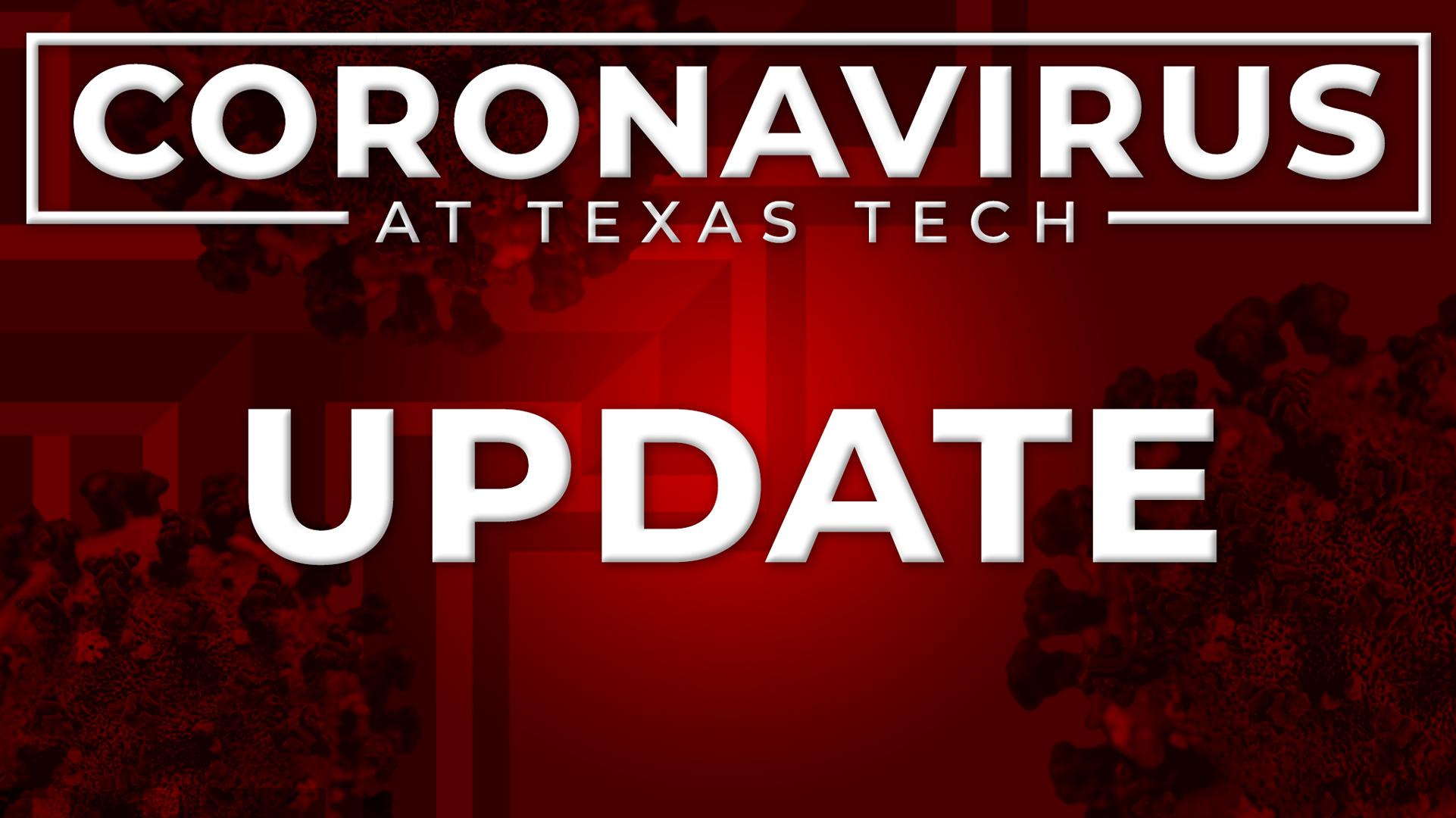 Texas Tech Coronavirus update