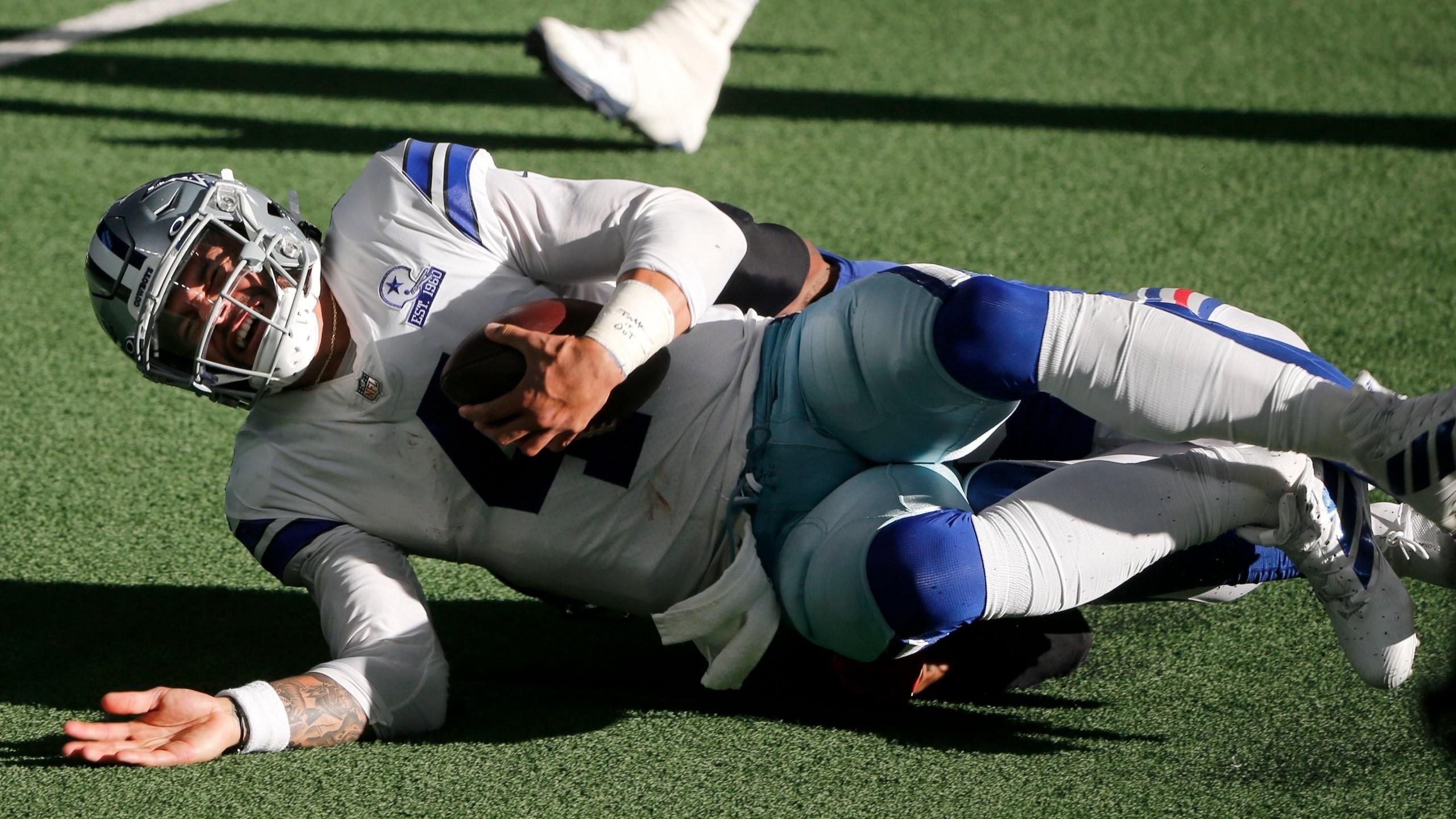 Cowboys Win Thriller Lose Prescott Klbk Kamc Everythinglubbock Com