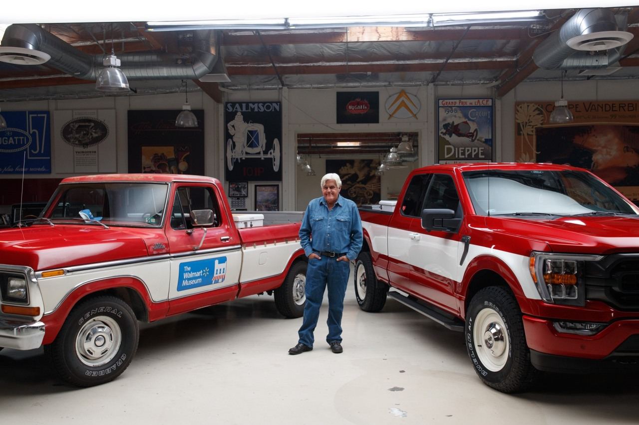 Jay Leno reimagines Walmart founder's Ford F-150