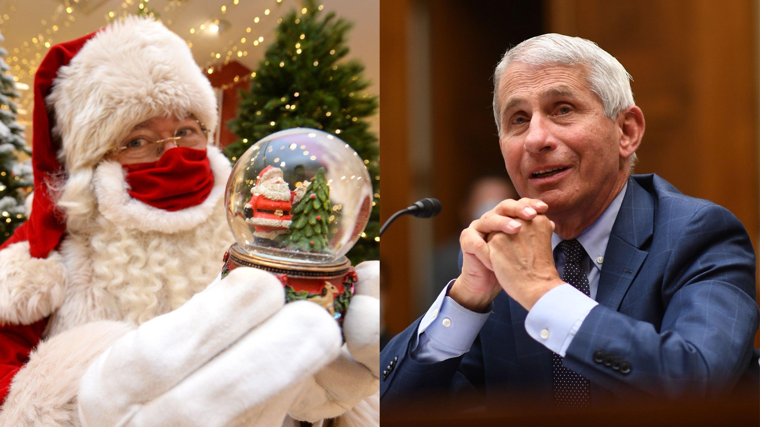 Santa Claus is immune to COVID-19, says Dr. Fauci | KLBK | KAMC |  EverythingLubbock.com