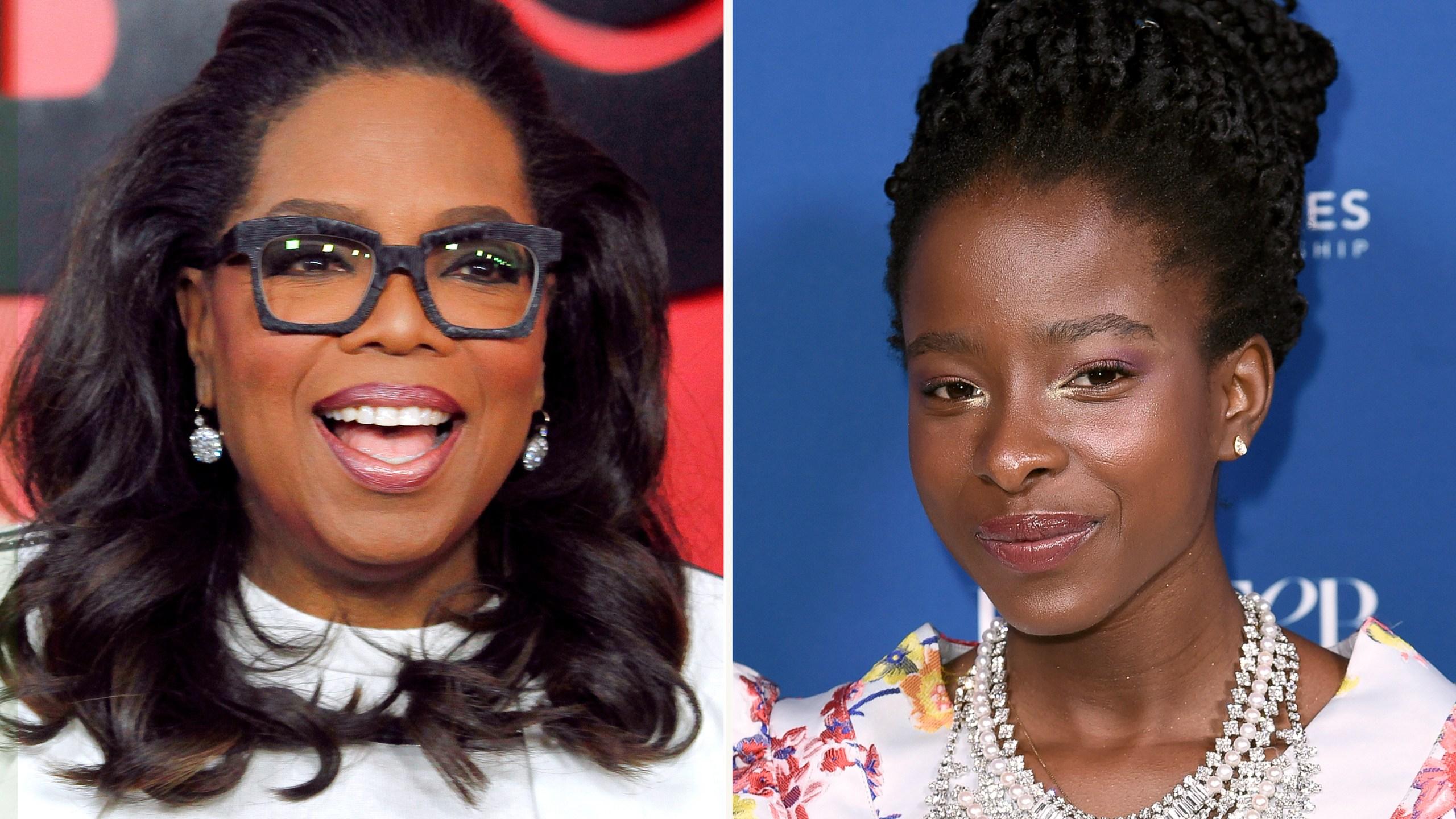 Oprah Winfrey, Amanda Gorman