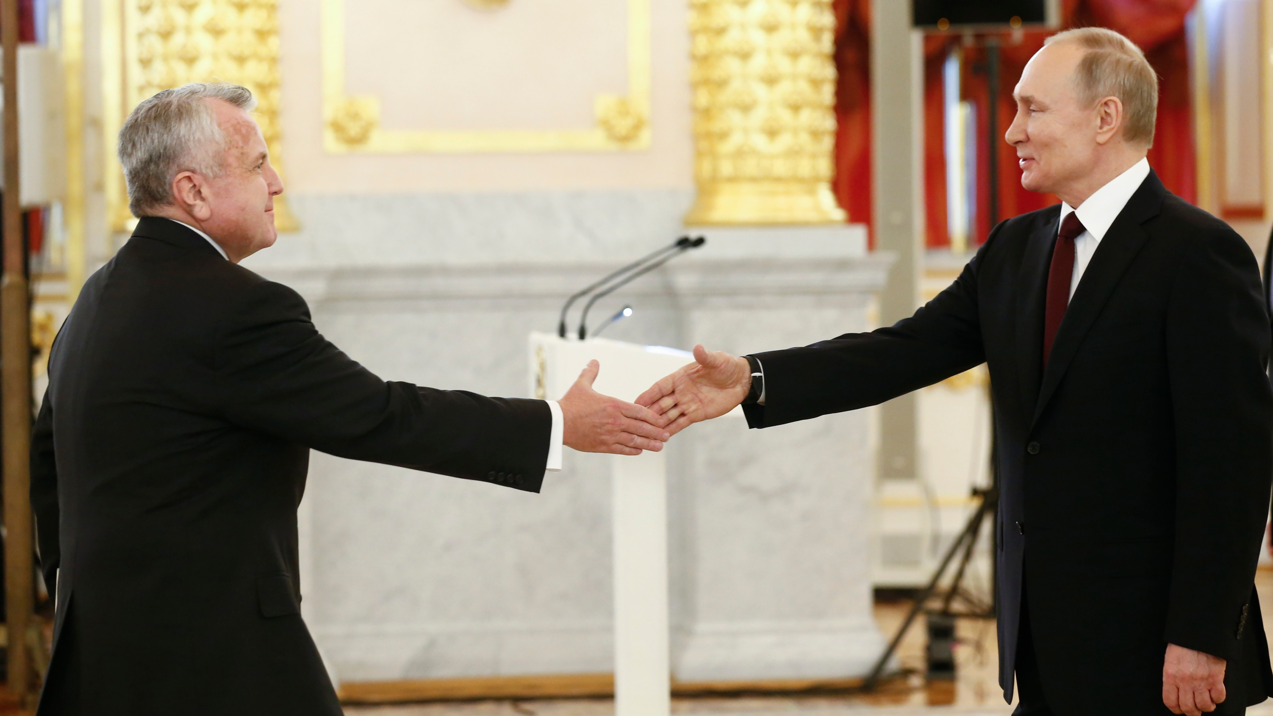 Vladimir Putin, John Sullivan