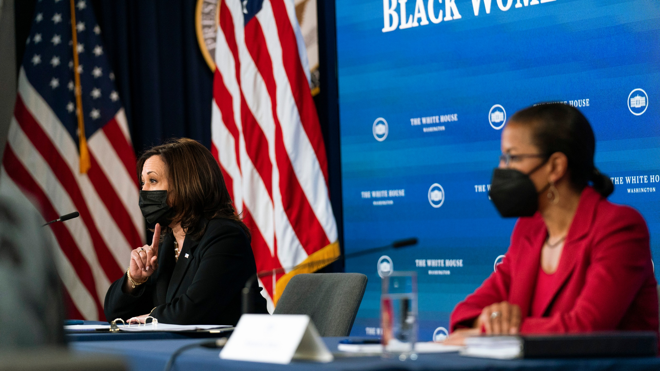 Kamala Harris, Susan Rice