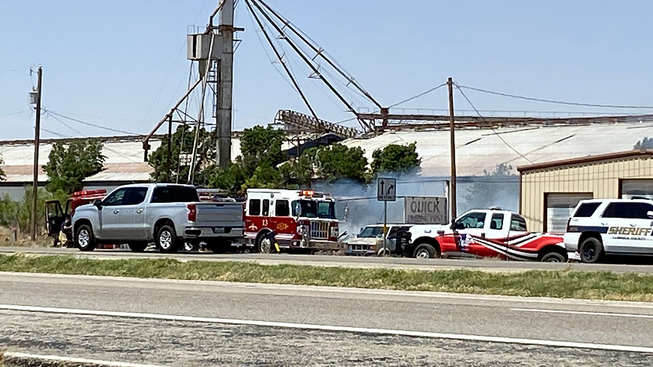 Multiple departments respond to fire in far NW Lubbock